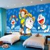 Custom Removable Waterproof Cute Anime Cartoon Photo Wall Murals for Kids Room
