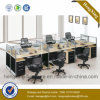 Chinese Furniture 6 Seats Staff Workstation Office Partition (HX-NPT017)