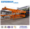 40FT Frame Container Frame Semi Trailer for Cargo Tractor