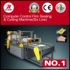 Computer Control Bottom Sealing and Cutting Machine for Vest & Flat Bags (6 lines)