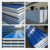 Easy Install Color Steel Rock Wool Sandwich Wall /Roof Panel for Warehouse/ Simple House