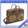 Mens Casual Leisure Canvas Messenger Work Travel Bag for Trips