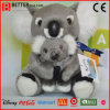 En71 Plush Stuffed Animal Soft Mother and Kids Koala Bear Toy