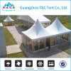 Wind Resistant Canvas Igloo Pagoda Tent with Transparent Windows