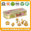 Moshi Monsters Metal Golden Collection Tin with Metallic Gold Color