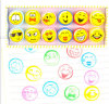 OEM Colorful Children Kids Toy 12 Emoji Stamper Stamp
