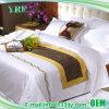 Cotton Plain Hotel Custom Embroidered Comforter Set