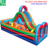Small Inflatable Obstacle Course for Sale, Cheap Inflatable Obstacle with Slide