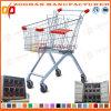 Supermarket Euro Style Zinc Shopping Cart Trolley (Zht13)