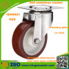 Stainless Steel Small PU Caster Wheel