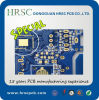Agriculture Machinery PCB 10layers Hal Lf PCB with Green Solder Mask