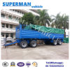 4 Axle Utility Transport Cargo Pulling Dolly Semi Truck Trailer