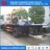 Isuzu 4*2 8tons Street Rescue Flat-Bed Tow Truck for Cars