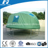 Green Tent with Window for Big Trampoline