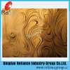4mm/5mm/6mm Acid Etched Mirror Glass /Designed Mirror /Etched Mirror Glass /Decoarative Glass /Wall Glass / Hotel Decoration Glass