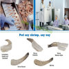 Commercial Shrimp Peeling and Deveined Machine, Prawn Peeling Machine