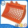 Caterpiller/Komatsu/Hitachi/Kobelco/Hyundai Excavator Skeleton/Grilling/Grating Bucket