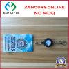 Custom Retractable Plastic Yoyo Badge Reel Lanyard Business ID Card Holder