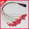 Fiber Optic MPO to LC Hybrid Fanout Cable