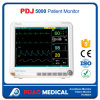 Cheap Professional Ambulance Multiparameter Patient Monitor (Capnograph)