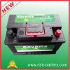 Good Quality Maintenance Free Starting Rechargeable Battery DIN57531 (75Ah 12V)