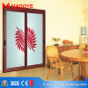 Made in China Tempered Glass Sliding Door Grill Design
