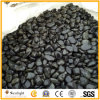 Unpolished Natural Stone Black River Pebble for Garden Paving