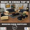 Foam Sofa Set with Genuine Leather Material Lz1688