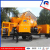Mobile Truck Mounted Concrete Mixer Pump with 100kw Generator