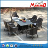 PE Wicker Leisure Dining Table Set