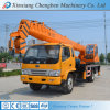 Well Welcomed Mini Pickup Crane Lifting Hook with Truck Chassis