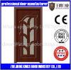 MDF Door Material and Swing Open Style PVC Wooden Door