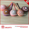 Promotional Lovely Round Silicone Bread Mini Coin Bag/Purse/Wallet