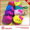 Wholesale Cartoon Cute Mini Zipper Silicone Coin Purse /Wallet Bag