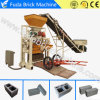 Qt40c-1 Semi Automatic Concrete Brick Block Machine Price