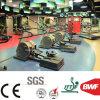 Indoor Light Gery Gym Vinyl Sports Floor Roll Gem Pattern 4.5mm