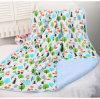 Baby Blanket Cartoon Short Plush Two-Layer Blanket