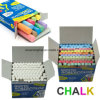 Environmental Non-Toxic Dustless White and Colour Blackboard Chalk