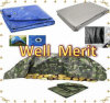 12 FT X 20 FT. Super Heavy Duty 8 Oz Silver Tarp-16mil Thick