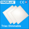 595*595 38W 120lm/W Triac Dimmable LED Square Panel Light