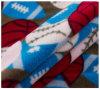 100% Polyester Custom Printed Micro Polar Fabric, Blanket Fabric, DTY 150d/144f.