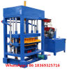 Qt4-30 Semi Automatic Concrete Block Making Machine Paving Machine