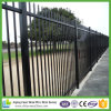 Black Powder Coated Tubular Fence / Steel Fence / Wrought Iron Fence
