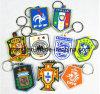PVC World Cup Football Team Key Chain Country Team (ZQDYS)