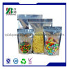 One-Side Clear Resealable aluminium Foil Stand up Zipper Bag