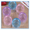 Portable 7 Layer Round Plastic Pill Storage Boxes