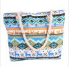 The New Handbags National Wind Large Capacity Canvas Shoulder Bag Fashion Colorful Beach Bag