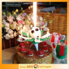 Soccer Music Fireworks Birthday Candle