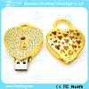 Heart Lock Shape Jewelry USB Flash Drive (ZYF1135)