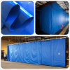 Waterproof Tarpaulin for Industrial Wash Bay Curtains